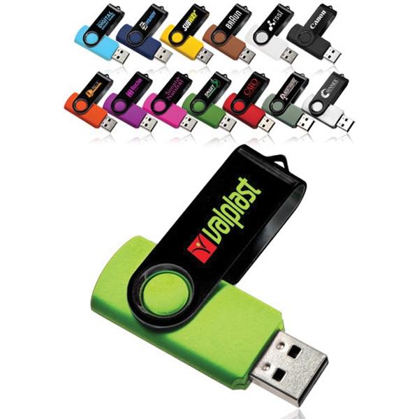 8 GB Swivel USB Drive