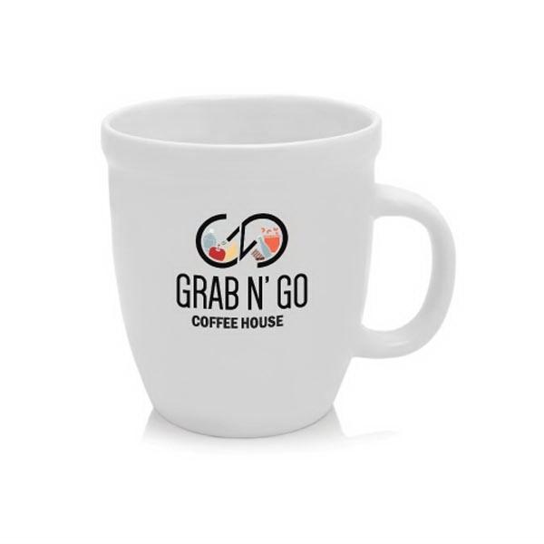 21 oz Glossy Ceramic Coffee Mugs