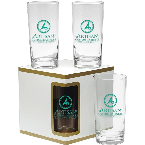 Premium Set of 4 Deluxe Beverage Glasses