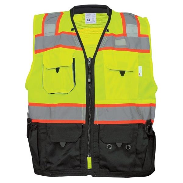 HV - Premium High-Visibility Surveyors LED Safety Vest