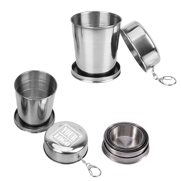 8 oz Collapsible Drinking Cup