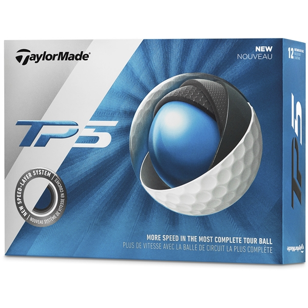TaylorMade TP5 Golf Ball (Factory Direct)