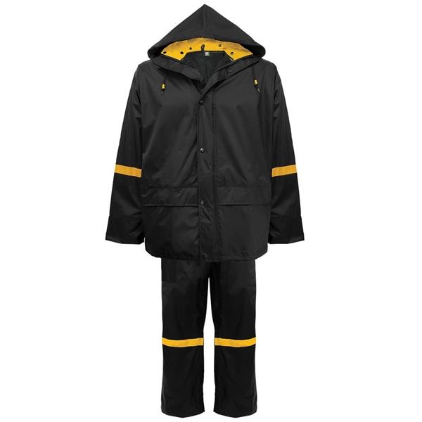 3-Piece Premium Nylon Rain Suit