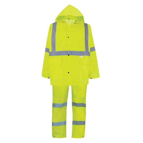 3-Piece High-Visibility Rain Suit