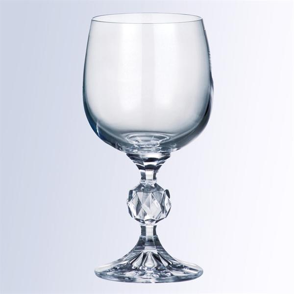 6.4oz Non-Lead Crystal Wine Goblet