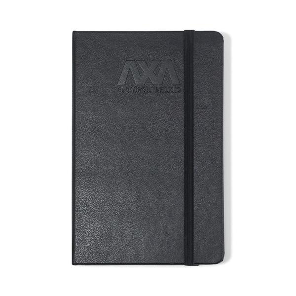 Moleskine® Hard Cover Squared Pocket Notebook