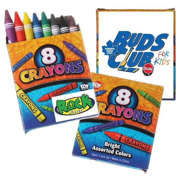 8pk Crayons