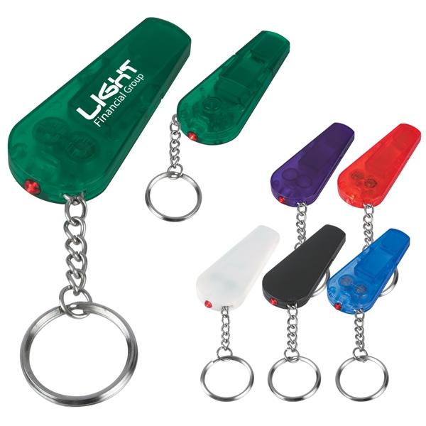 Whistle Light/Key Chain