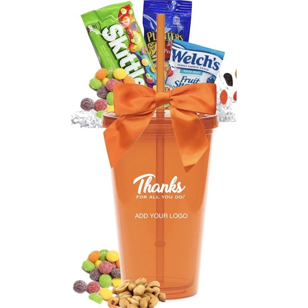 Halloween Candy and Snack Gift Tumbler