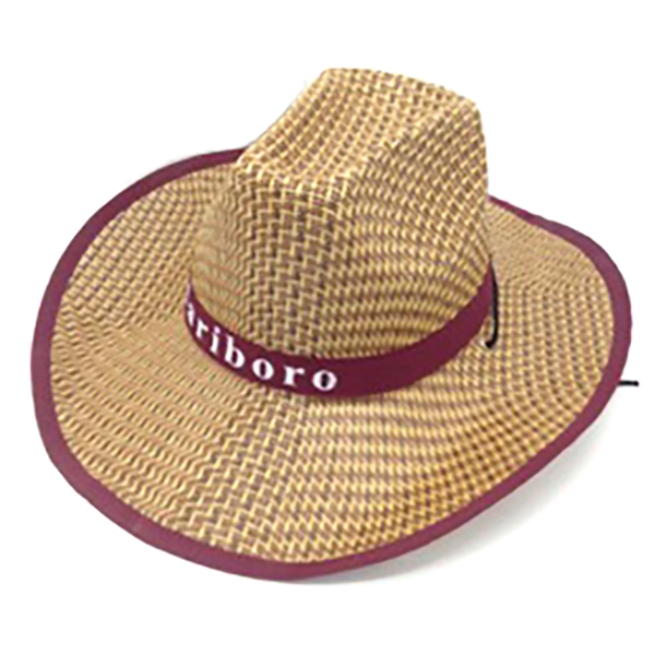 Natural Straw Sun Hat