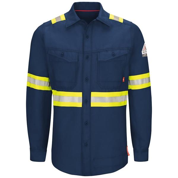 Bulwark iQ Series® Endurance Enhanced Visibility Work Shirt