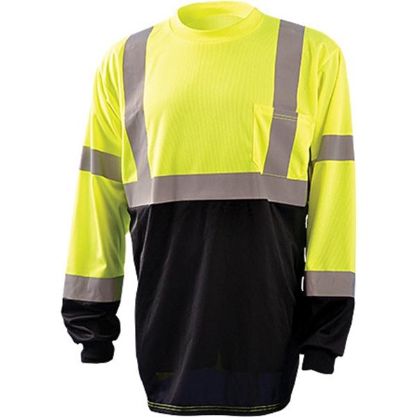 Occunomix® Class 3 Black Bottom - Long Sleeve T-shirt