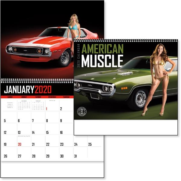 American Muscle 2020 Calendar
