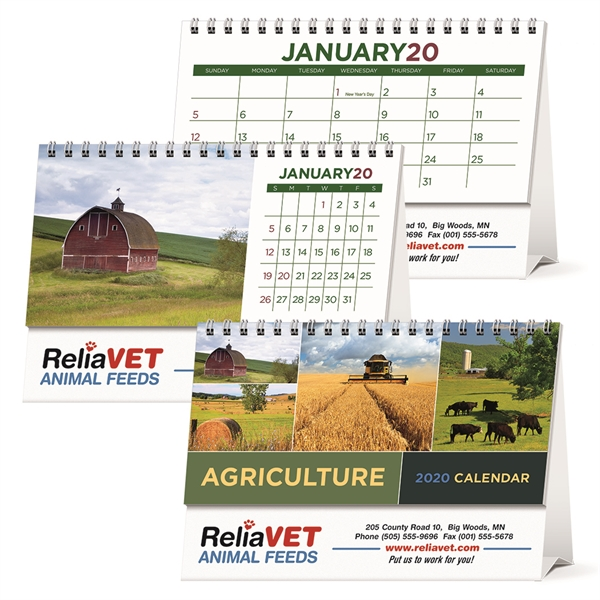 Agriculture Desk 2020 Calendar