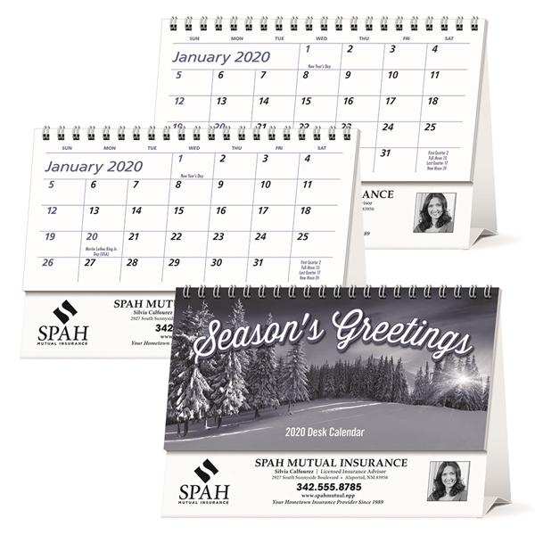 Econo 2020 Desk Calendar