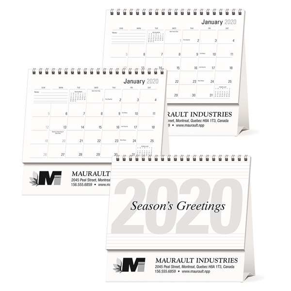 Large Econo Desk 2020 Calendar