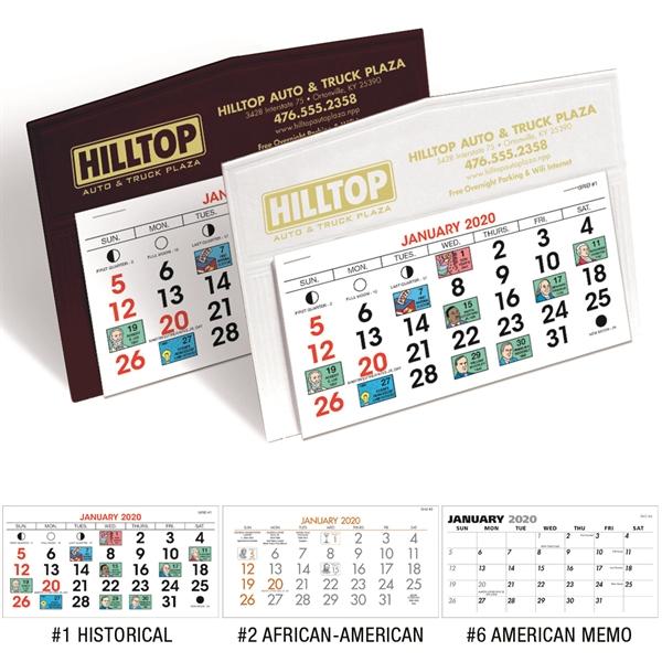 Legacy 2020 Desk Calendar