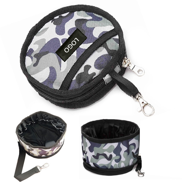Pet Bowl With Pouch