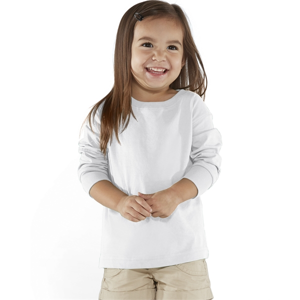 Rabbit Skins Toddler Long-Sleeve Fine Jersey T-Shirt
