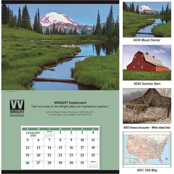 Jumbo 2020 Hanger 12-Month Calendar