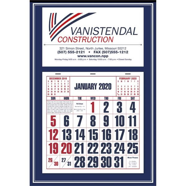Blue Apron Calendar