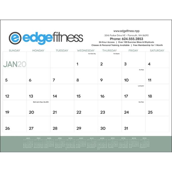 2020 Desk Calendar Pad