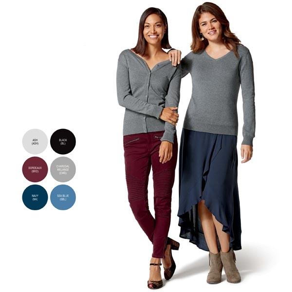 Clique Women's Imatra V-Neck Cardigan Sweater