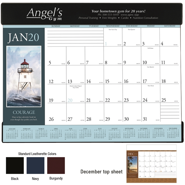 Motivations 2020 Desk Calendar Pad