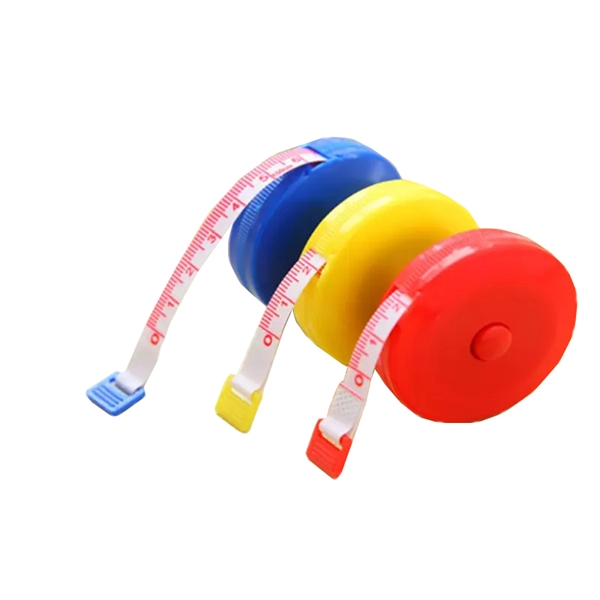 Soft And Automatically Retractable Tape Measure For Sewing