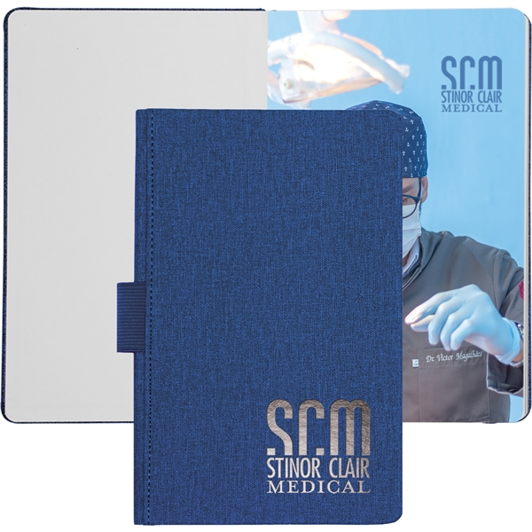NEW! Heathered™ Journal w/ Tip-In