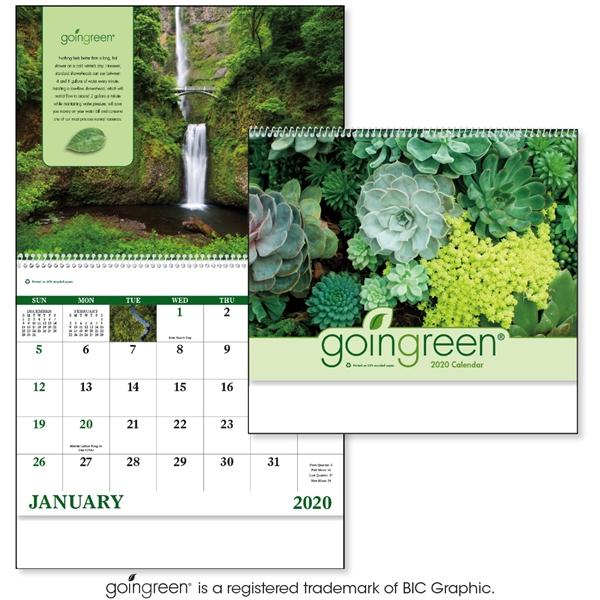 Spiral GoinGreen® Inspirational 2020 Appointment Calendar