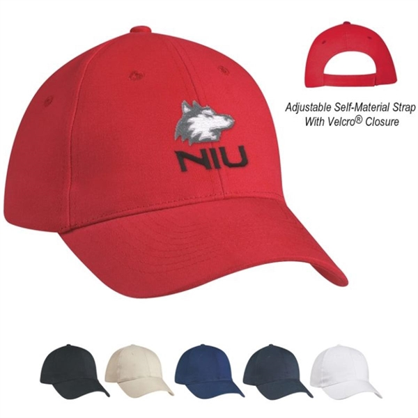 Price Buster Cap 6 Panel Structured - Embroidered