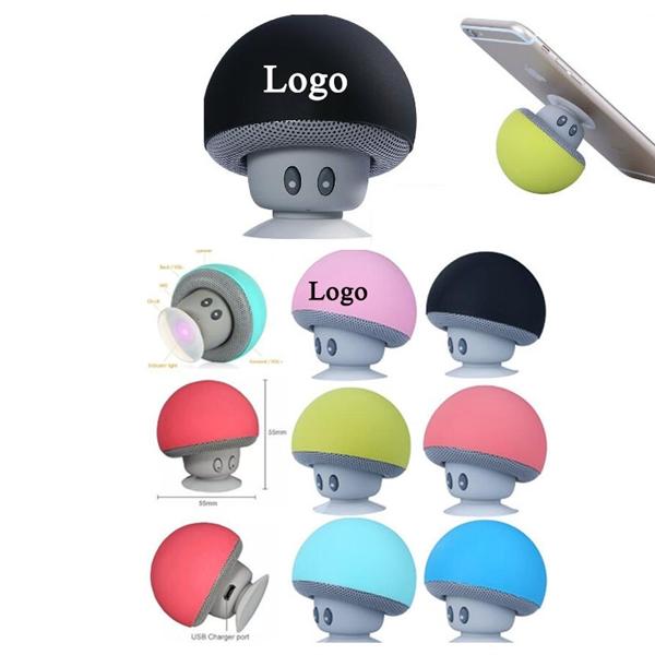 Mini Mushroom Shaped Bluetooth Speaker