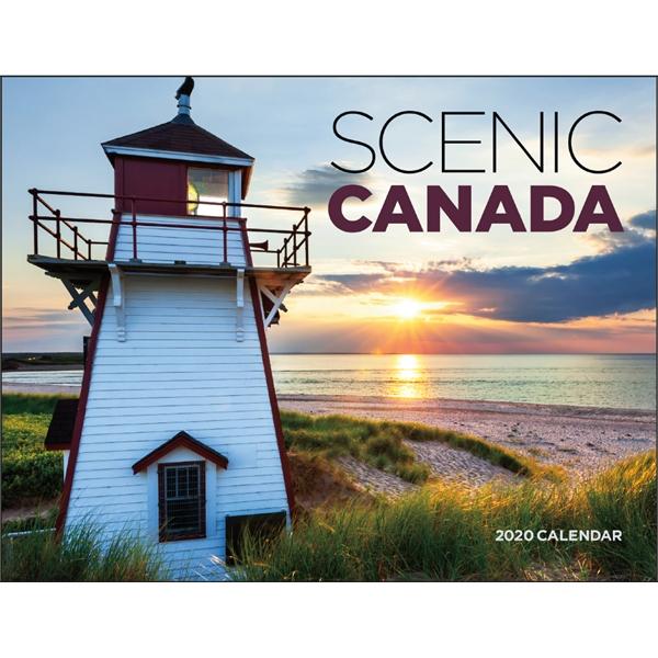 Window Scenic Canada 2020 Appointment Calendar