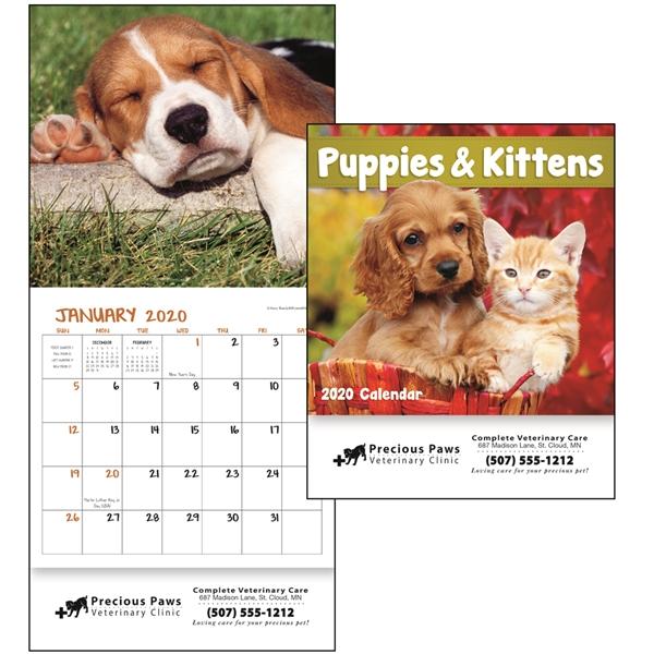 Puppies & Kittens Mini 2020 Appointment Calendar