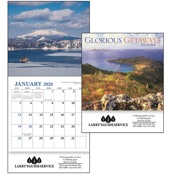 Glorious Getaways Mini 2020 Appointment Calendar