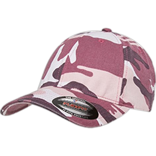 Yupoong Flexfit Camouflage Cap - Dark/All