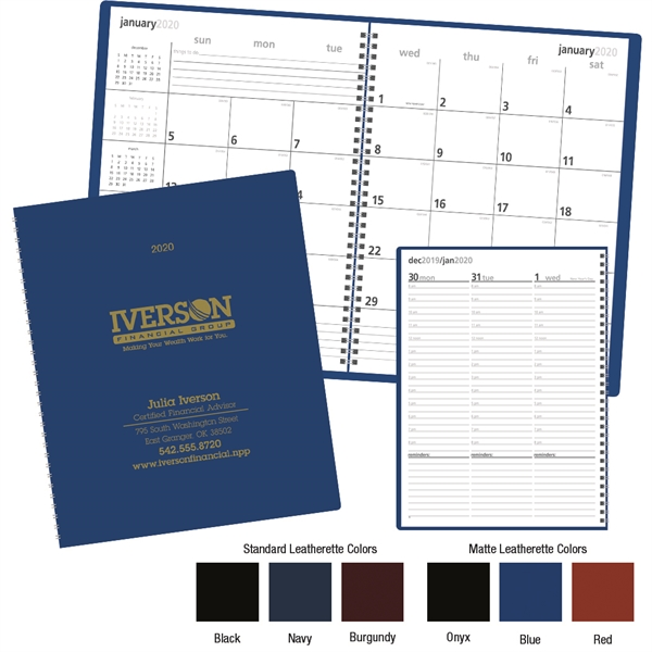 Monthly & Weekly 2020 Planner