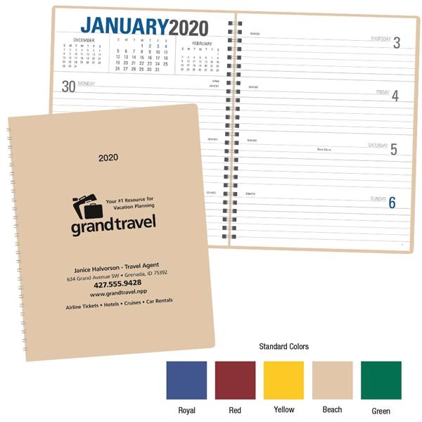 Weekly Planner - 2020 Calendar