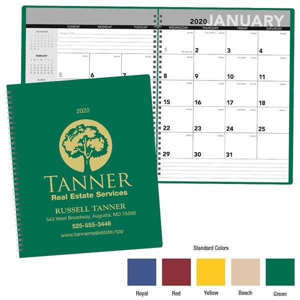 Monthly Planner - 2020 Calendar