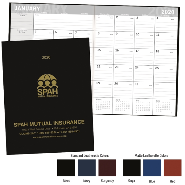 2020 Classic Monthly Planner
