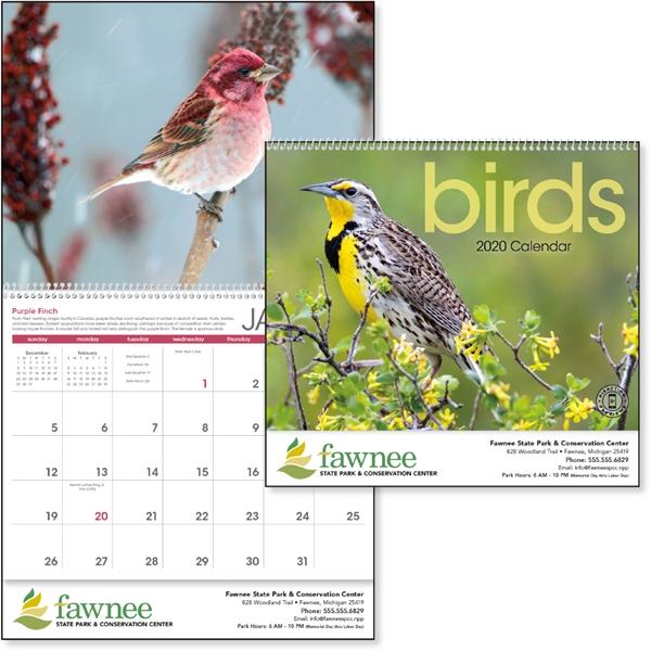 Birds 2020 Calendar