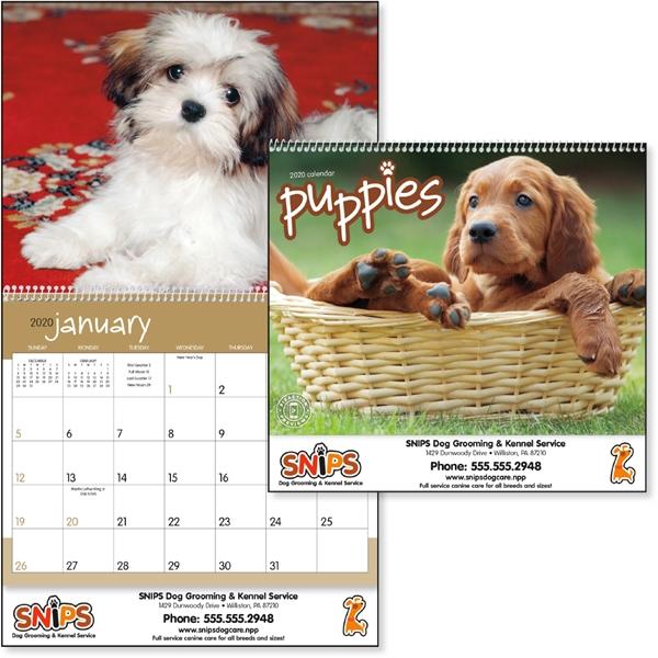 Puppies 2020 Calendar