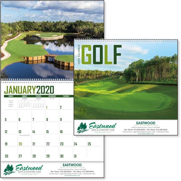 Golf 2020 Calendar