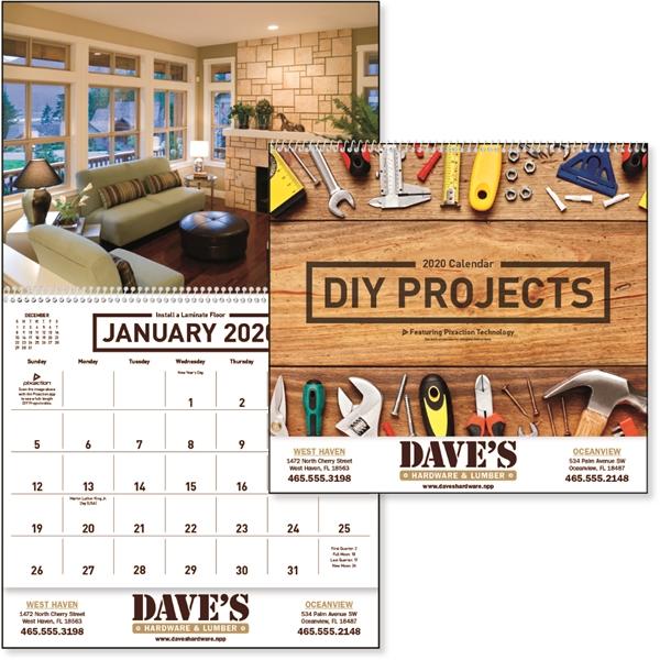 DIY Projects 2020 Calendar