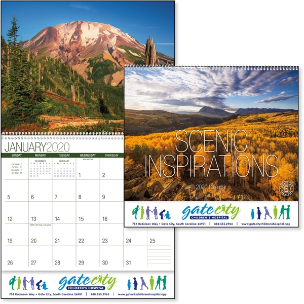 Scenic Inspirations 2020 Calendar