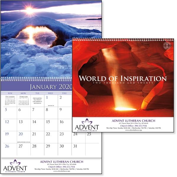 World of Inspiration 2020 Calendar