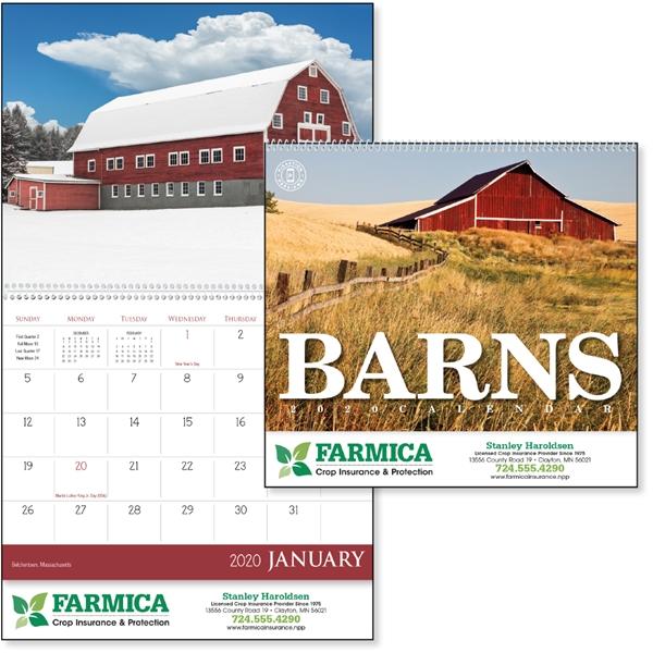 Barns 2020 Calendar