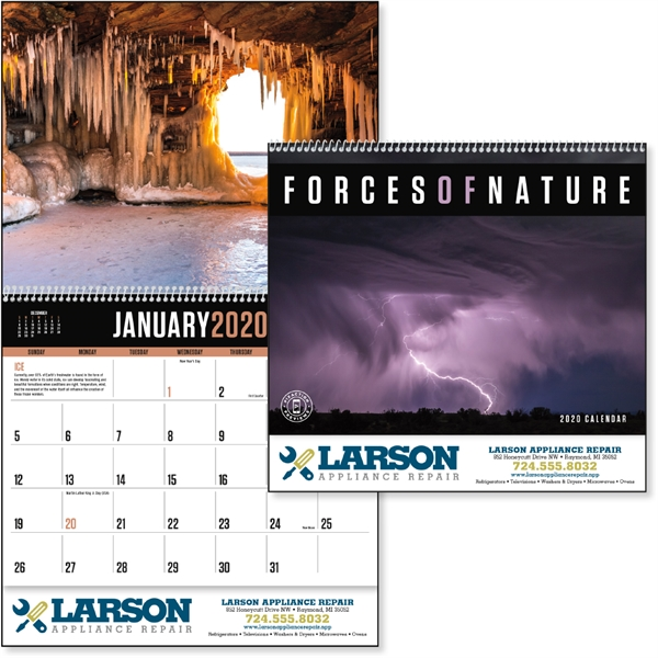 Forces of Nature 2020 Calendar