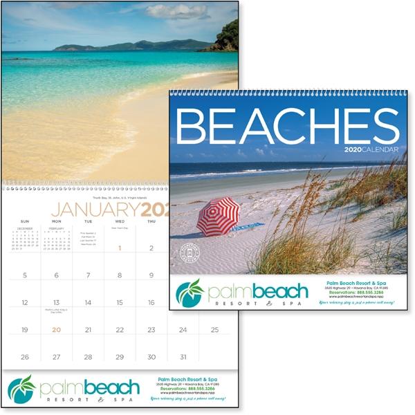 Beaches 2020 Calendar
